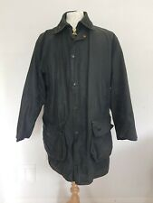 BARBOUR Border A205 38inch 97cm Vintage Wax Jacket