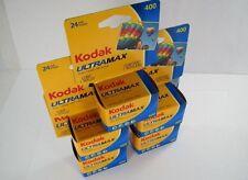 KODAK Ultramax 400 ISO 135-24 Exp. 35mm Film - 5 Rolls