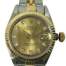 ROLEX Datejust Ladies Automatic Gold K18YG (750) Stainless Steel [e0420]