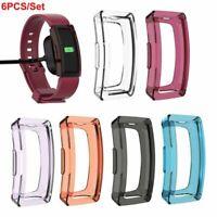 6Pack Case Shell Schutzhülle Tasche Für Fitbit Inspire/Inspire HR Smart Watch