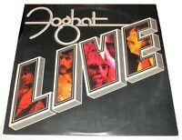 Foghat Live **1977 Vinyl LP** Bearsville {BRK 6971} VG+