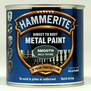 Hammerite METAL PAINT SMOOTH WILD THYME 750ML