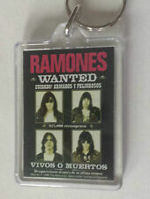 Ramones wanted Keyring Key fob Punk Sex Pistols
