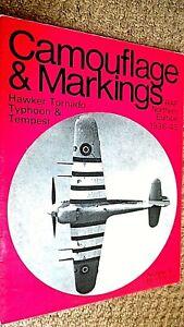 CAMOUFLAGE & MARKINGS #4: HAWKER TORNADO, TYPHOON & TEMPEST: RAF NORTHERN EUROPE