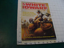 vintage HIGH GRADE Unread Magazine: WHITE DWARF #80, 64 pages