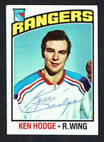 Ken Hodge #25 signed autograph auto 1976-77 Topps Hockey Trading Card