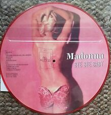 Very Rare ! Madonna Bye Bye Baby (12' Picture Disc )Vinyl  LP