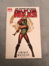THE SAVAGE SHE-HULKS: FALL Of THE HULKS#1 WOMEN OF MARVEL VARIANT RARE!!