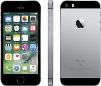 NEW SPACE GRAY VERIZON GSM/CDMA UNLOCKED APPLE 64GB IPHONE SE PHONE JK98