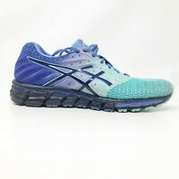 Asics Womens Gel Quantum 180 T6G7N Blue Running Shoes Lace Up Low Top Size 10.5