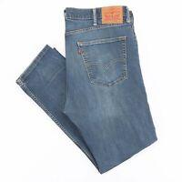LEVI'S Slim Straight Fit Mens Blue Casual Jeans W38 L29