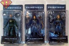 "SEAN FIFIELD DR SHAW MEREDITH VICKERS Prometheus 7"" Figures Series 4 2017"