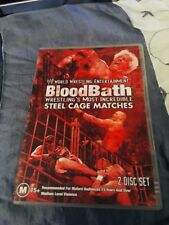 WRESTLING DVD - WWE  BLOODBATH, STEEL CAGE MATCHES M15+