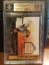 2012 Topps Golden Moments Relics Frank Thomas Baseball Card #FT BGS 9.5 Pop 1