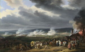 Horace Vernet The Battle of Jemappes Giclee Canvas Print Paintings Poster