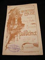 Partition La petite église Paul Delmet Music Sheet