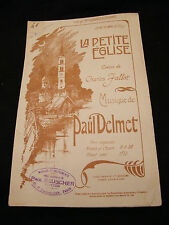 Partition La petite église Paul Delmet Music Sheet