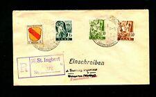 "Saar - 1947, seltener Reko Stempel ""St. Ingbert""   (#5775)"