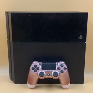 SONY 500GB PLAYSTATION 4 CONSOLE WITH PINK CONTROLLER - SOLD AS SEEN