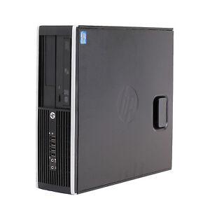 HP Compaq Elite 8200 Wi-Fi PC Quad Core i7-2600 8GB RAM 500GB HDD Win10 Wi-Fi