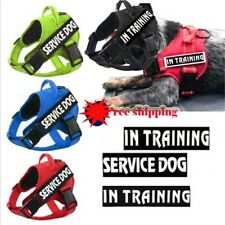 Non-Pull Pet Dog Vest Harness Chest Reflective Walk Collar&2 free patches XS-XL