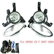 Fog Light For HONDA CRV 2007-2009 Fog Lamps Clear Lens Bumper Fog Lights Driving