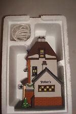 "Department 56 ""Potter'S Tea Seller"" Christmas in the City Series Light & Box"