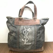 Pre Owned Authentic YSL Large Shoulder Bag / Handbag