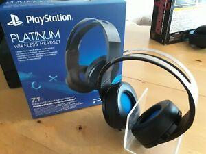 PS4: Platinum Wireless Headset 7.1 | SONY | OVP | PlayStation | Original