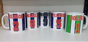 Sheffield Wednesday Legends Players Mug,Gift,Owls,Fan Merchandise,Football,SWFC
