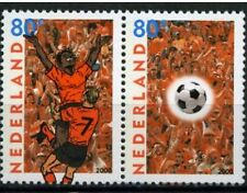 Nederland 2000 1888-1889 EK Voetbal - Football Joint issue met België