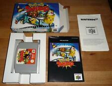 Original N64 Pokemon Snap - Nintendo PAL Deutsch Top - mit OVP Box CIB