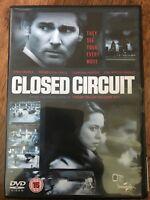 Eric Bana Rebecca Hall Closed Circuit ~ 2013 Británico Terrorismo SUSPENSE GB