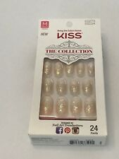 KISS THE COLLECTION OVAL GLITTER MEDIUM LENGTH NAIL KIT 62273 SSC04