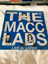 THE MACC LADS Live at Leeds (The Who?) Blue Vinyl 1988 FM-Revolver Records