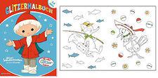 Disegni Colorare Tempo Blocco Rivista Time Libro Da Colorare Glitter Sandman