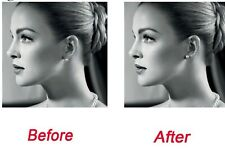 1 Pair Silver Heart Magic Earring Backs Support Earrings Lifts Butterfly