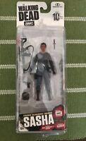 McFarlane Toys The Walking Dead amc Sasha Action FigureSeries 10