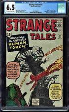 STRANGE TALES #101 CGC 6.5 OWW 1ST SOLO HUMAN TORCH SINCE 1954 CGC #2037498020