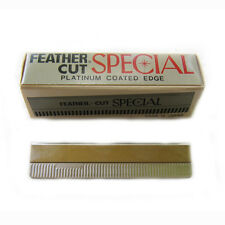 FEATHER CUT SPECIAL x 10 pcs blade hair styling razor thinning JAPAN THE BEST
