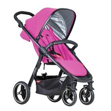 Phil&Teds Smart 3 Stroller in Raspberry Brand New! Free Shipping!