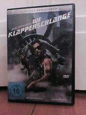 Die Klapperschlange/Digitally remastered DVD/neuwertig/John Carpenter,K.Russel