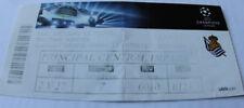 Ticket for collectors CL Real Sociedad Shakhtar Donetsk 2013 Spain Ukraine