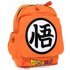 Dragon Ball Z Goku Symbol Large School Backpack Canvas