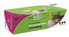 LM Van Ness Drawstring Cat Pan Liners Small (10 Pack)