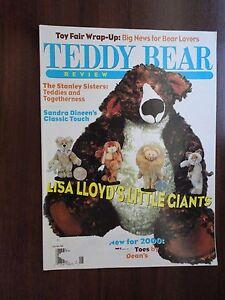 Teddy Bear Review Magazine Back Issue May/June 2000 Lisa Lloyd Little Giants