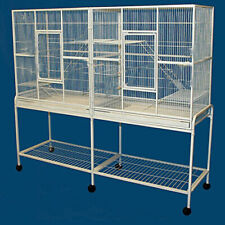 "Large 64"" Double Divider Cage Guinea Pig Ferret Glider Rat Chinchilla Rabbit"