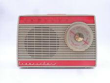ANCIEN TRANSISTOR SONOLOR ANNEES 60 ORANGE - RADIO TUNER VINTAGE DECO LOFT H32