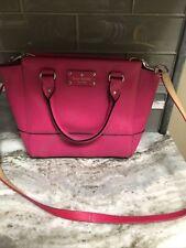 Kate Spade Rachelle Hot Pink Bag 14X 9 In Shoulder Strap