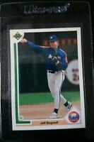 1991 UPPER DECK #755 JEFF BAGWELL ROOKIE CARD RC HOUSTON ASTROS HOF GEM MINT